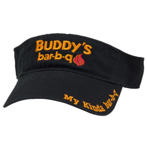 Buddy's Bar-B-Q Visor