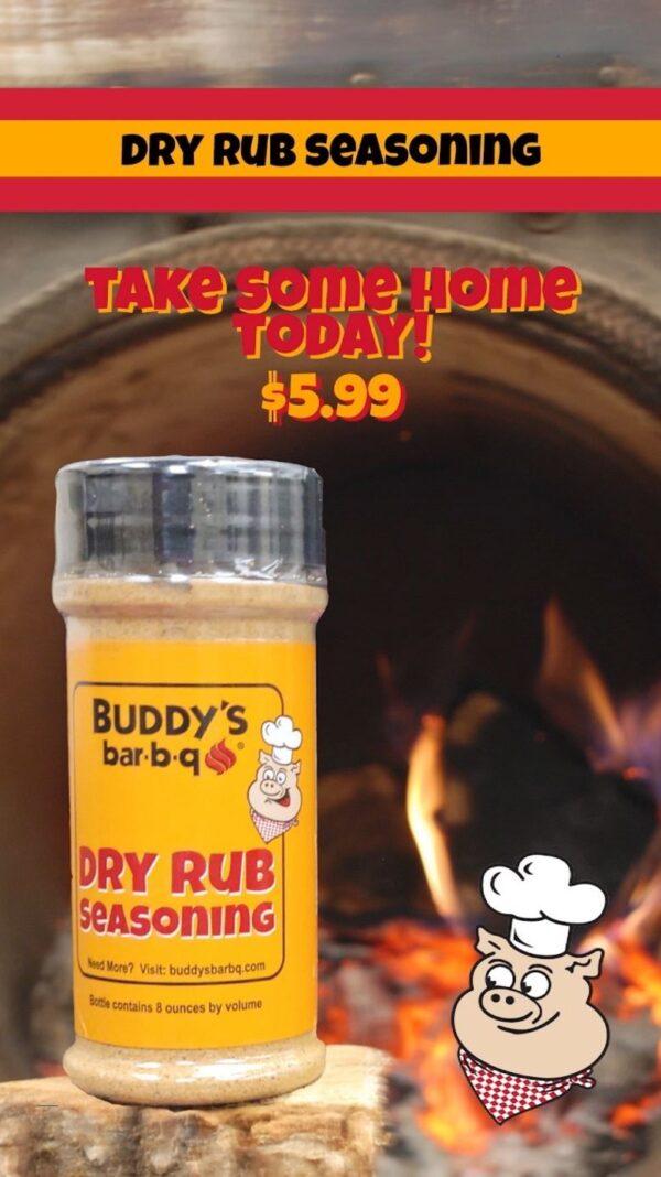 Buddys Dry Rub Seasoning
